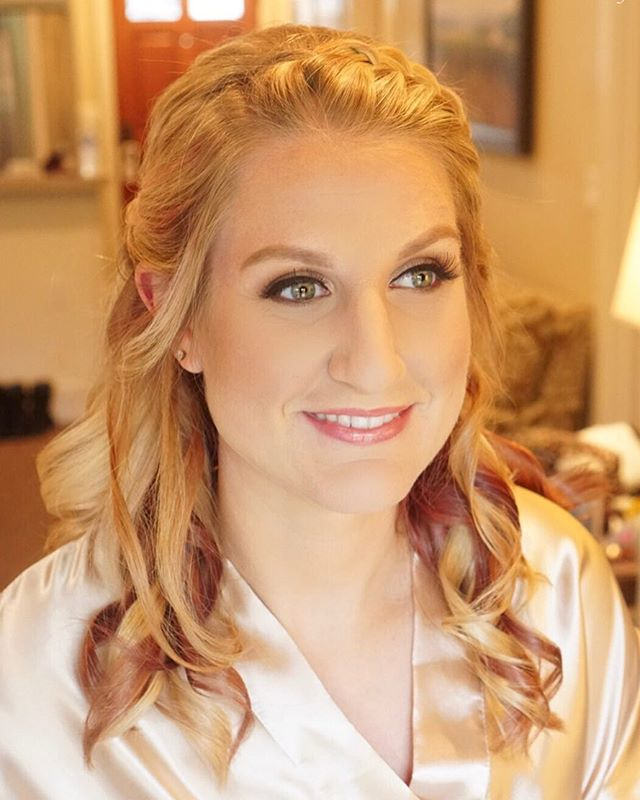 ✨Maid of Honor Makeup Design by _love_and_artistry✨_._💕Hair by _caroliiine_k