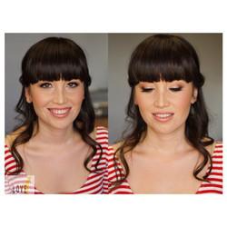 BRIDAL HAIR & MAKEUP TRIAL ❤️ #hair #makeup #artist #design #beauty #bridal #bride #bridesmaid #wedd