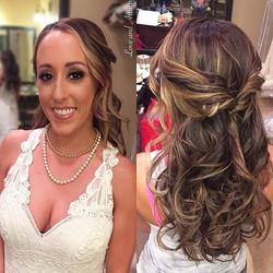 Bridal hair & makeup design