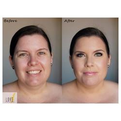 #before #after #beforeafter #airbrush #bridal #bride #bridesmaid #weddingmakeup #weddingartist #wedd