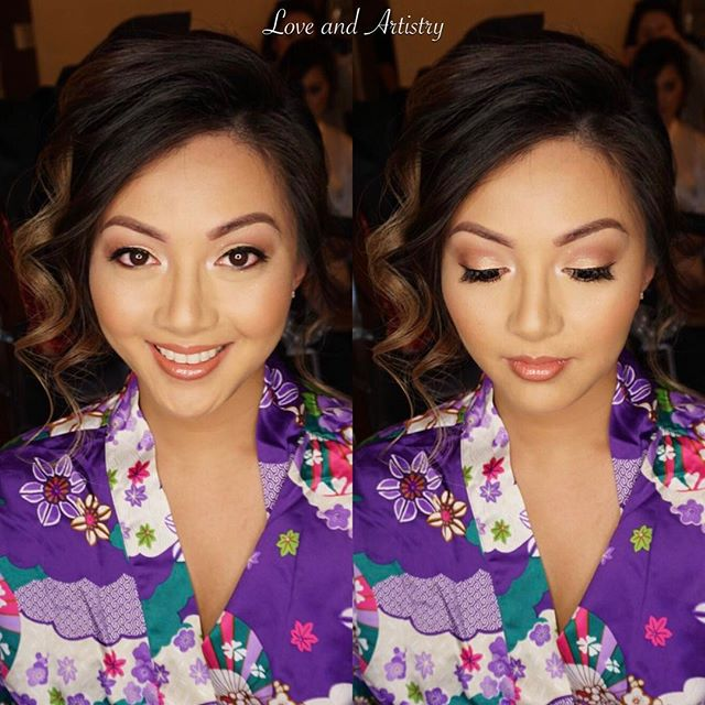 💕Bridesmaid Hair + Makeup Design