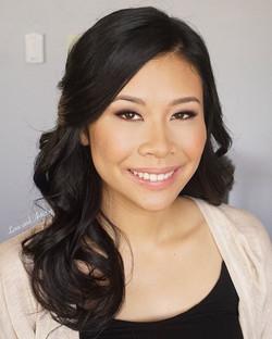 Bridal hair & airbrush makeup trial at Love and Artistry, Professional Hair & Makeup Design Studio__