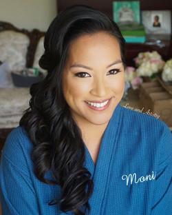 Bridal hair & airbrush makeup design yesterday 👰🏻_