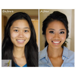 Before and After_Bridal Hair & Makeup Design__#hair #makeup #artist #design #beauty #bridal #bride #