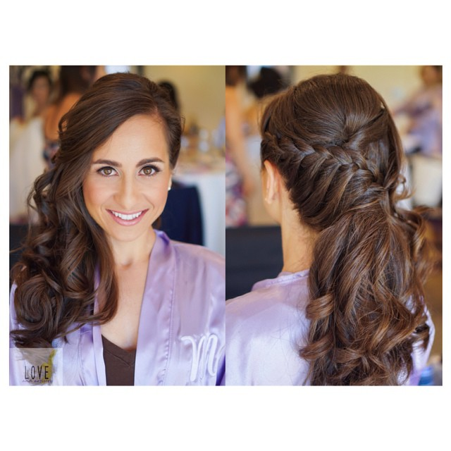 Bridesmaid Hair & Airbrush Makeup _#hair #makeup #artist #design #beauty #bridal #bride #bridesmaid