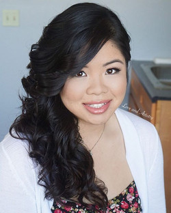 Hair & Makeup Design for her post wedding photo shoot 📸_