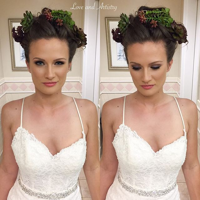 ✨Bridal Hair & Makeup Design✨_._💗Styled photo shoot in collaboration with _cinnabarhillsgolfclub ._