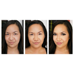 #makeup #transformation in #HD_💜 #before_💜 #highlight & #contour_💜 #after___ #products - #chanel