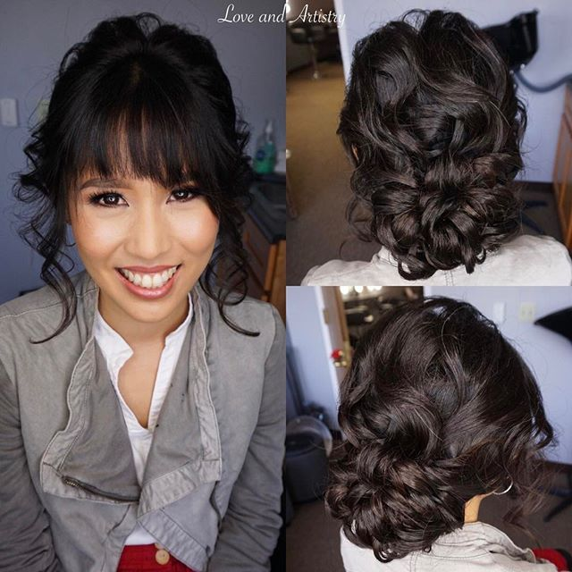 💐Bridal Hair & Airbrush Makeup Trial