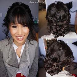 💐Bridal Hair & Airbrush Makeup Trial