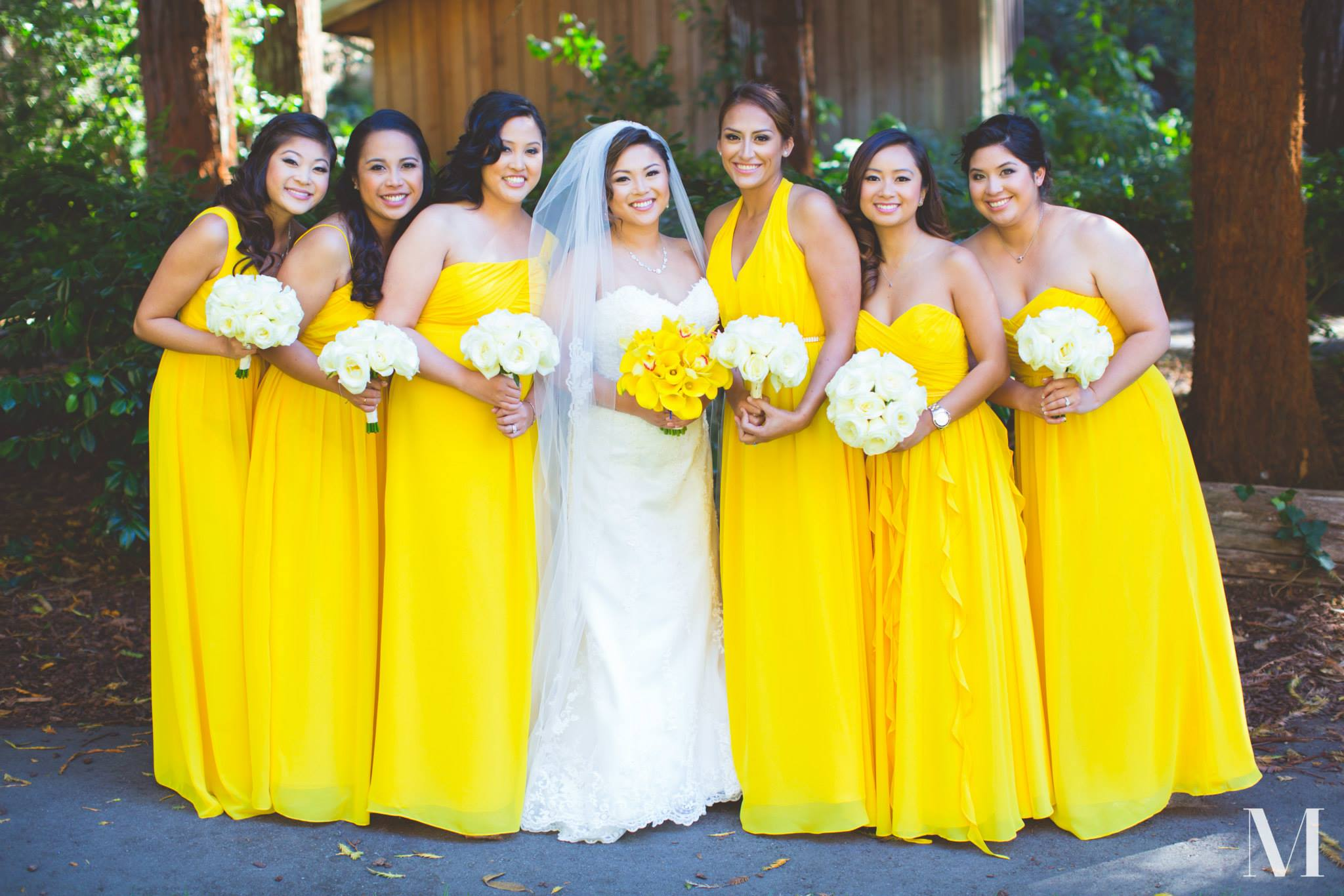 Allison Jimenez and bridal party 9-5-15