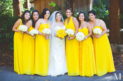 Allison Jimenez and bridal party 9-5-15