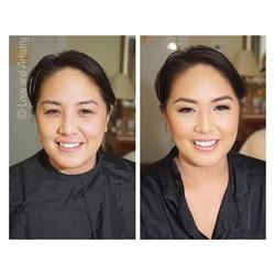Bridesmaid Airbrush Makeup 🌺  #makeup #artist #design #beauty #bridal #bride #bridesmaid #weddingma