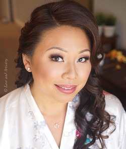 Second hair & makeup look for her ceremony at the San Francisco zoo - was such a creative and specia