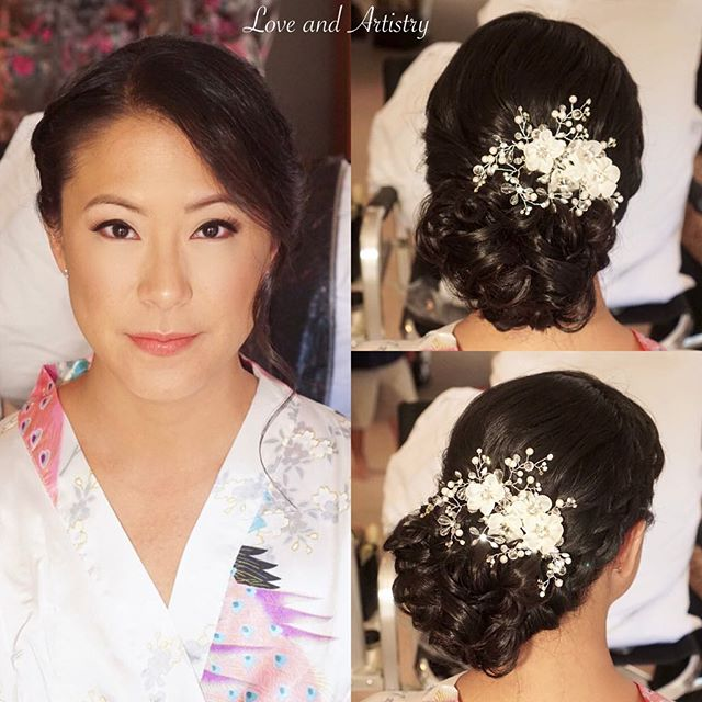 Bridal Hair + Airbrush Makeup ✨✨_