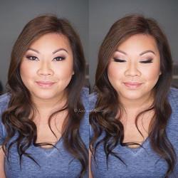 Airbrush Makeup for engagement photos ❤️ #makeup #artist #design #beauty #bridal #bride #bridesmaid