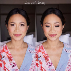 Wedding Day Airbrush Makeup Design 💕💍_._By _love_and_artistry