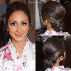 Bridal Hair & Airbrush Makeup Design 💗_