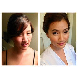 #before and #after #airbrush #makeup #nofilter