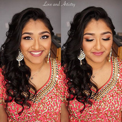 ✨Bridal Hair + Makeup Trial • 1st Makeup Look for Ceremony💄_
