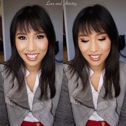 💕Bridal Airbrush Makeup Trial_