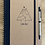 Thumbnail: A5 Spiral Notebook with Recycled Cover and Pen