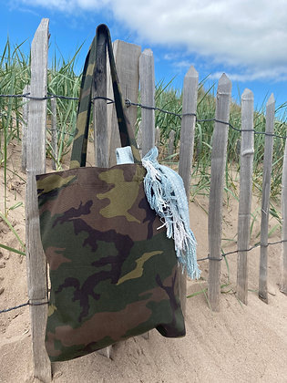 Recycled Camo Tote