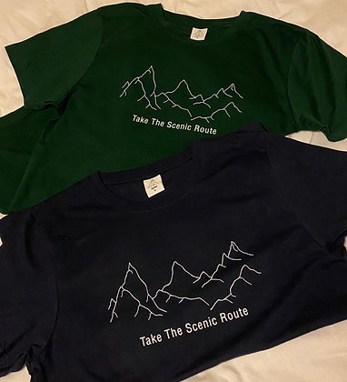 Take The Scenic Route Recycled Tee
