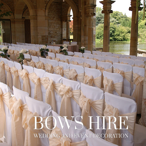 Linen Chair Cover at Hever Castle