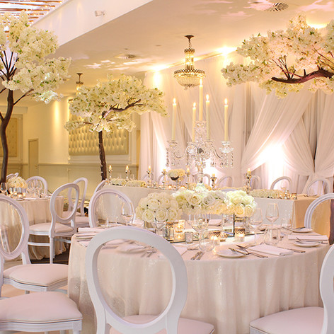 White Louis Chairs at Bannatynes Hotel