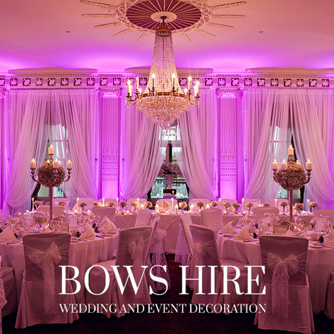 Linen Chair Cover at Buxted Park Hotel
