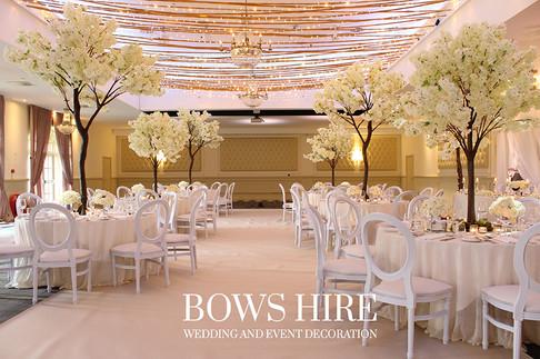 Ivory Blossom 180 & 280cm Trees