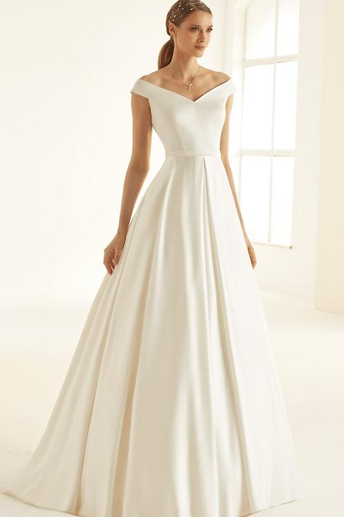 Esmerelda Ivory Wedding Dress UK14