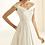 Thumbnail: Esmerelda Ivory Wedding Dress UK14