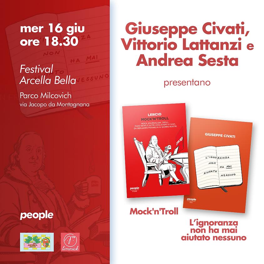 Civati e Lercio ad Arcella Bella - Padova