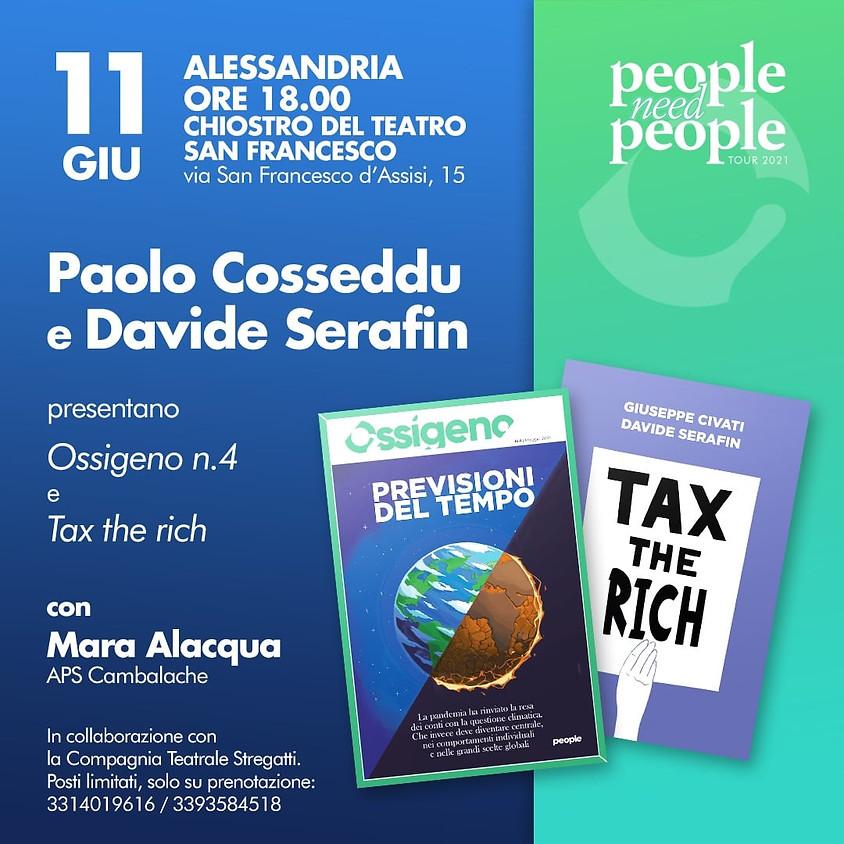 Ossigeno e Tax the rich - Alessandria