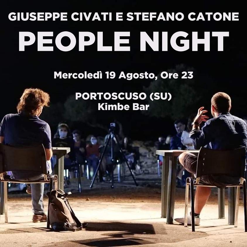 Civati e Catone a Portoscuso (SU)