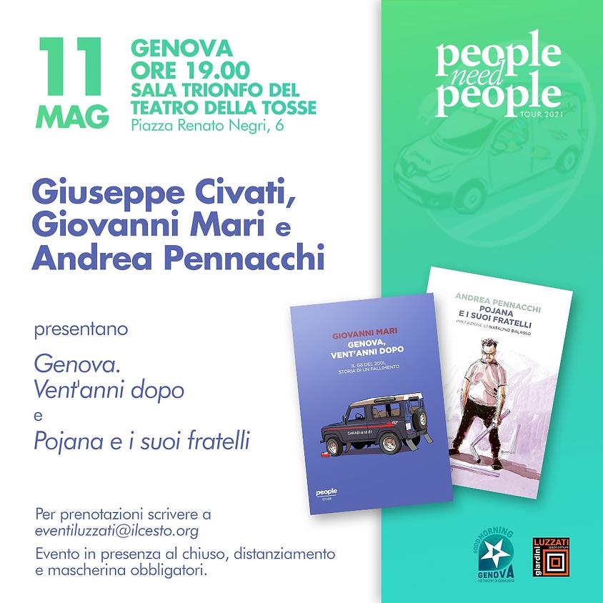 PeopleNeedPeople con Civati, Mari e Pennacchi - Genova