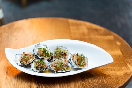 Oysters XO Sauce w Vermecilli