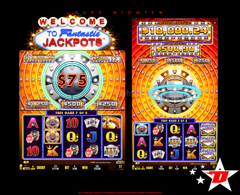 Welcome To Fantastic Jackpots STAKES New Free Games Feature