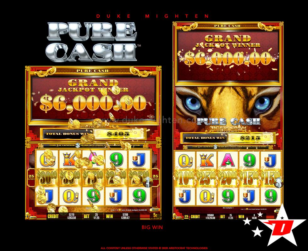 Pure Cash TIGER CASH Big Win