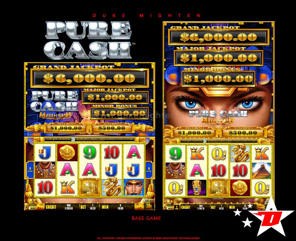Pure Cash MAYAN CASH Base Game