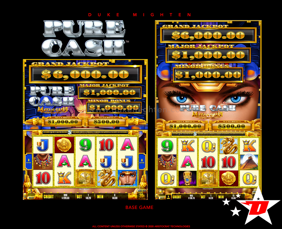 Pure Cash MAYAN CASH Base Game