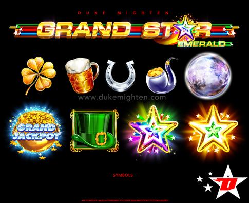 GRAND STAR Emerald symbols