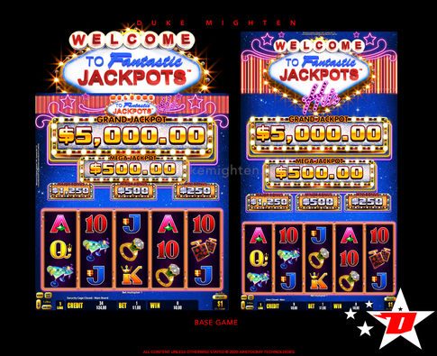 Welcome To Fantastic Jackpots HITS Base Game