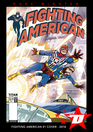 Fighting American Cover #1
