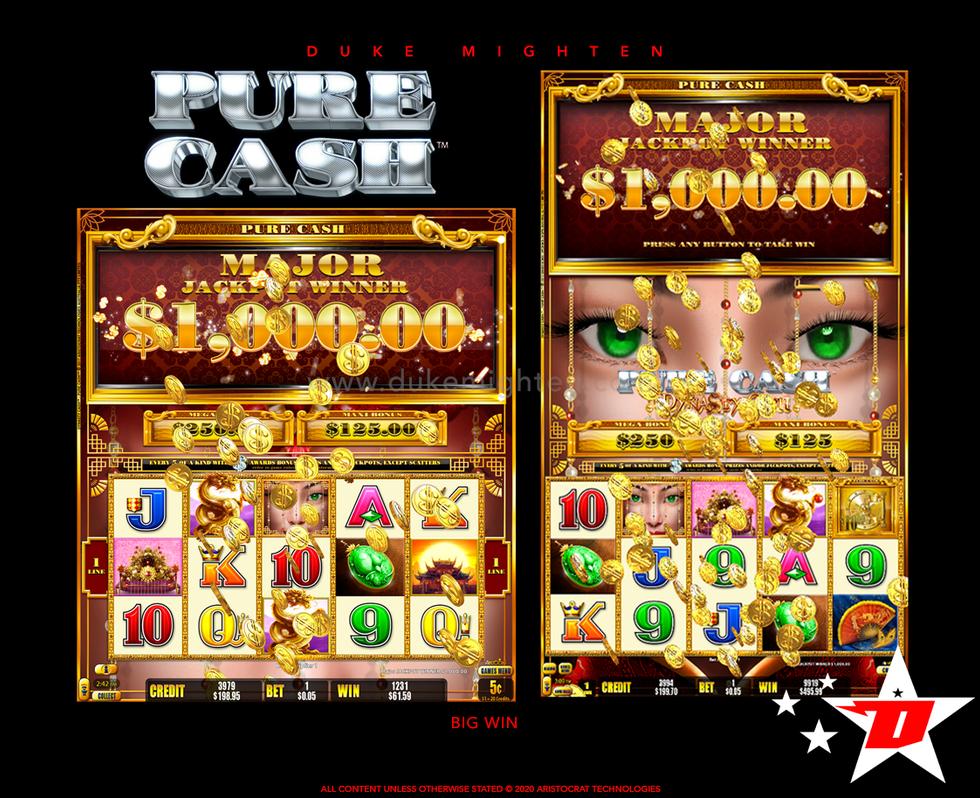 Pure Cash DYNASTY CASH Big Win