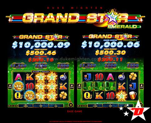 GRAND STAR Emerald Base Game
