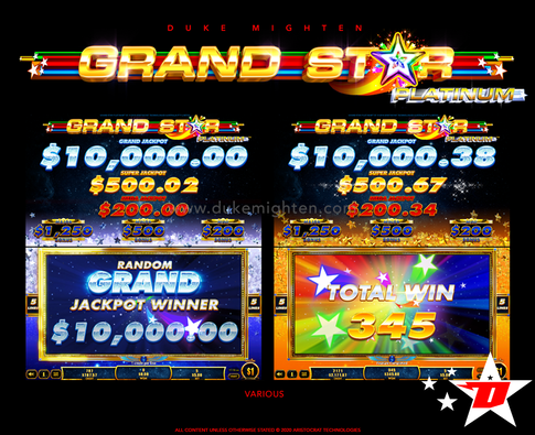 GRAND STAR Platinum various screens