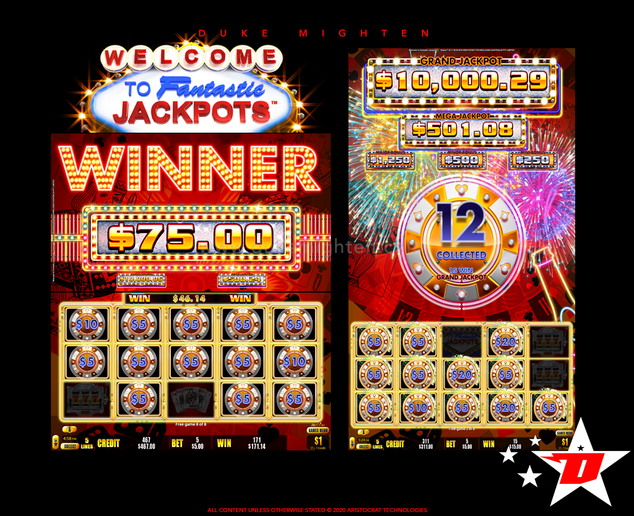 Welcome To Fantastic Jackpots STAKES Hold & Spin Feature
